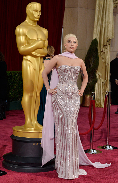 Strapless Evening Gown「86th Annual Academy Awards - Arrivals」:写真・画像(16)[壁紙.com]