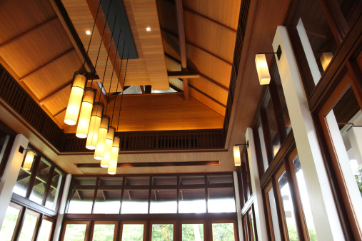 Resort「Oriental Modern Style Building Ceiling」:スマホ壁紙(8)