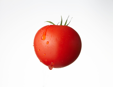 Tomato「Tomatoes with water drops.」:スマホ壁紙(0)