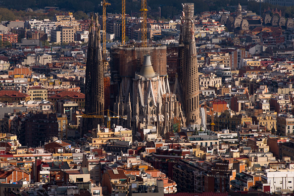 Sagrada Familia - Barcelona「Barcelona Takes Strict Measures Over Increasing Numbers Of Toursists」:写真・画像(16)[壁紙.com]