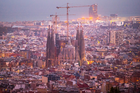 スペイン バルセロナ「Sagrada Familia Enters Final Construction Phase」:写真・画像(9)[壁紙.com]