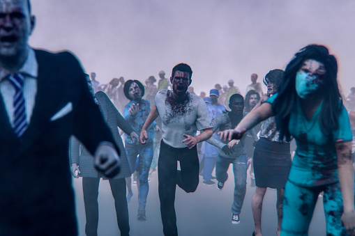 栗「Hordes of angry walking dead zombies」:スマホ壁紙(19)