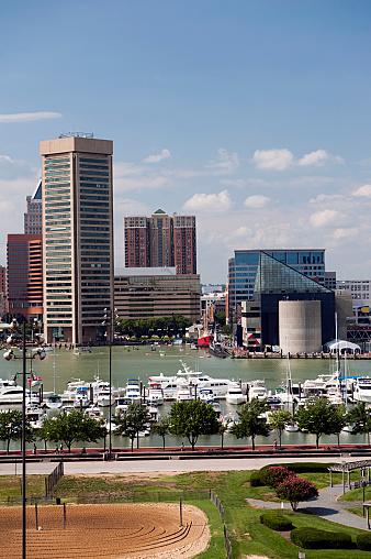 Chesapeake Bay「Baltimore Inner Harbor」:スマホ壁紙(2)