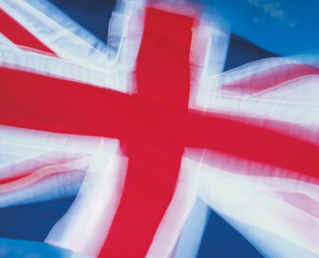 ユニオンジャック「Blurred closeup of flag of United Kingdom」:スマホ壁紙(19)