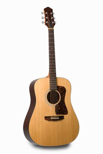 String Instrument「Acoustic guitar」:スマホ壁紙(4)