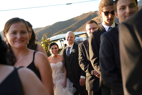 Wedding Reception「Stefany Ornelas And Alex Washer's Vows At Serendipity」:写真・画像(13)[壁紙.com]