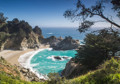 Julia Pfeiffer Burns State Park「Pfeiffer Big Sur State Park Beach」:スマホ壁紙(5)