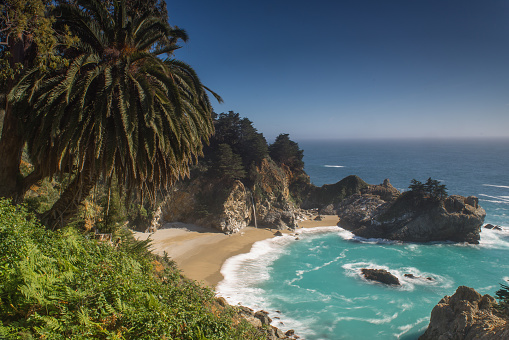 Julia Pfeiffer Burns State Park「Pfeiffer Big Sur State Park Beach」:スマホ壁紙(2)