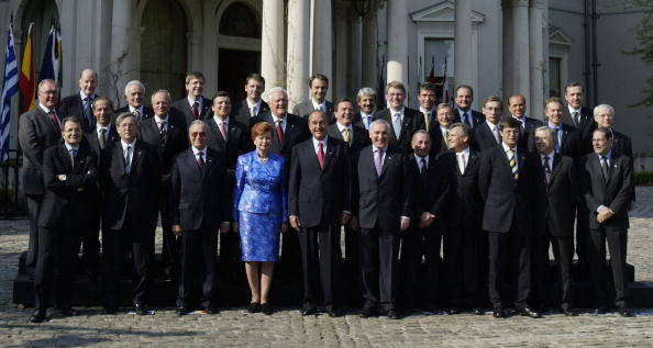 式典「EU Enlargement Ceremony - Gathering Of EU Leaders」:写真・画像(11)[壁紙.com]