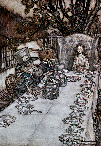 Place Setting「Alice In Wonderland」:写真・画像(14)[壁紙.com]