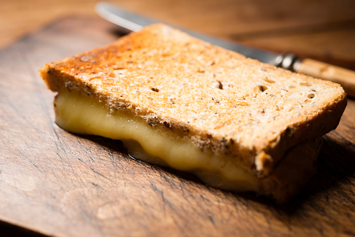 Toasted Food「Toasted Cheese Sandwich.」:スマホ壁紙(2)