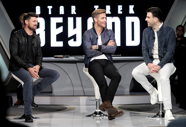 Zachary Quinto「Star Trek Beyond Fan Event」:写真・画像(5)[壁紙.com]