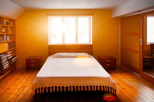 逆光「Bedroom」:スマホ壁紙(16)