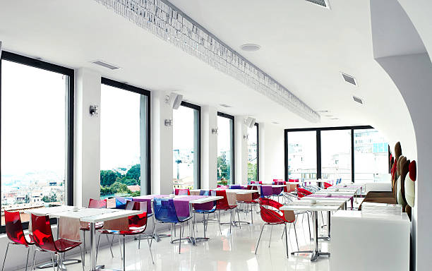 Empty Restaurant:スマホ壁紙(壁紙.com)