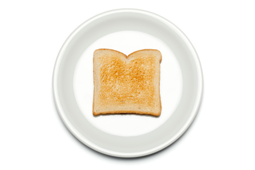 Toasted Food「Toast on the plate - Part 1 of 2」:スマホ壁紙(5)