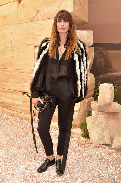 Caroline de Maigret「Chanel Cruise 2017/2018 Collection - Front Row」:写真・画像(9)[壁紙.com]