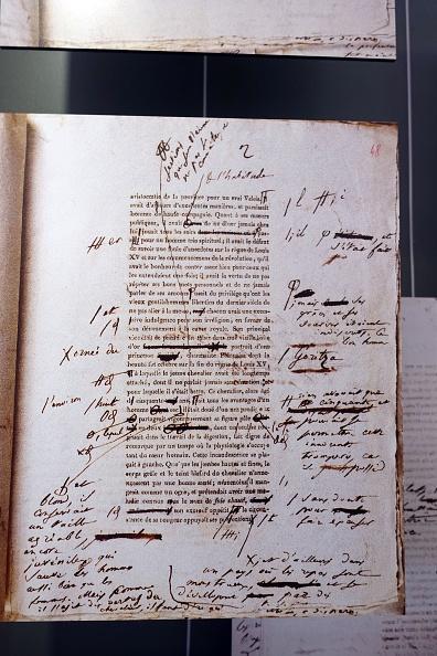 Writing「Maison de Balzac...」:写真・画像(9)[壁紙.com]