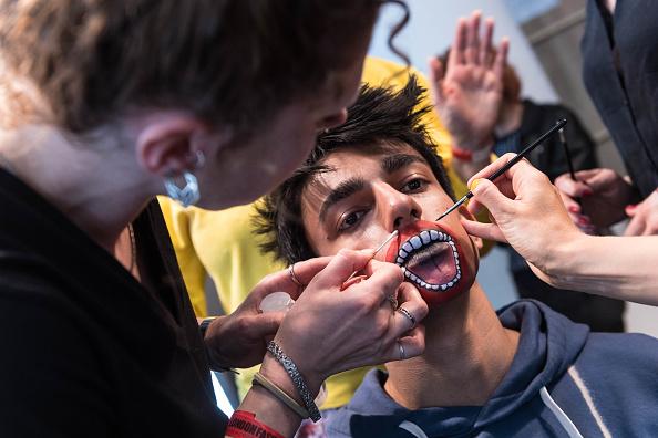 London Fashion Week「Liam Hodges - Backstage- LFWM June 2017」:写真・画像(5)[壁紙.com]