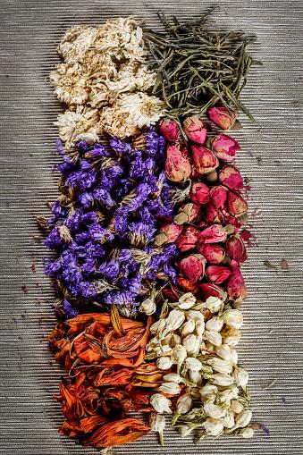 茶葉「Dried flowers and tea leaves」:スマホ壁紙(9)