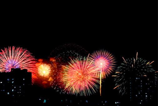 花火「Firework」:スマホ壁紙(2)
