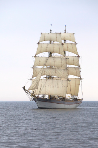 Sailboat「Briga Tre Kronor at sea」:スマホ壁紙(12)