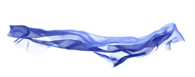 Silk「Flying blue silk」:スマホ壁紙(7)