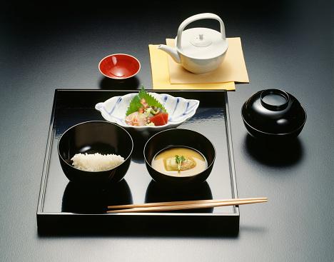 Sake「Sake and Japanese dishes, black background」:スマホ壁紙(8)