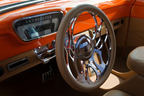 Restoring「Classic car interior」:スマホ壁紙(6)