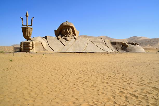 Badain Jaran desert, Inner Mongolia, China:スマホ壁紙(壁紙.com)