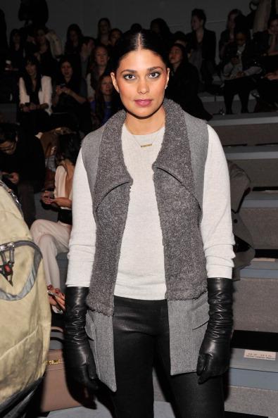 茶髪「Vera Wang - Front Row - Fall 2013 Mercedes-Benz Fashion Week」:写真・画像(10)[壁紙.com]