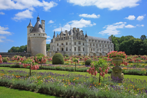 Loire Valley「Chateau de Chenonceau」:スマホ壁紙(1)