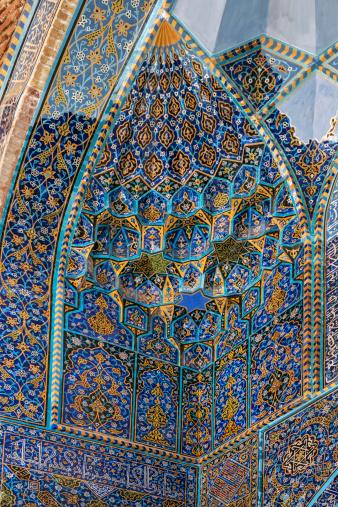 Iranian Culture「Tile details at Blue Mosque, Masjidi Qebud,Tabriz」:スマホ壁紙(2)
