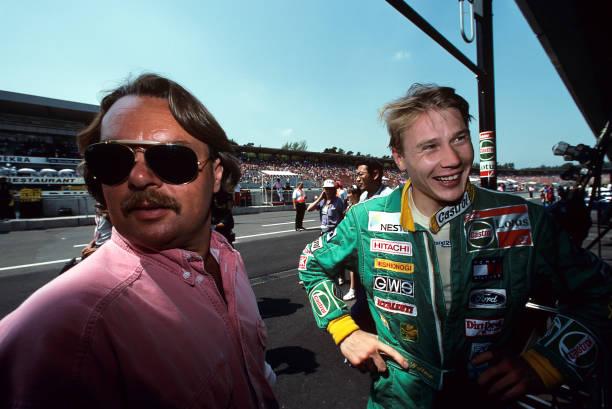 ミカ ハッキネン「Mika Häkkinen, Keke Rosberg, Grand Prix Of Germany」:写真・画像(4)[壁紙.com]