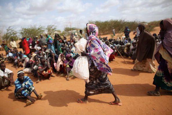 Charity and Relief Work「Refugees Flock To Dadaab As Famine Grips Somalia」:写真・画像(12)[壁紙.com]