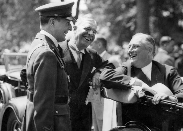 Franklin Roosevelt「President And General」:写真・画像(12)[壁紙.com]