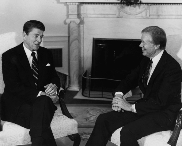 Consolidated News Pictures「Ronald Reagan And Jimmy Carter」:写真・画像(3)[壁紙.com]