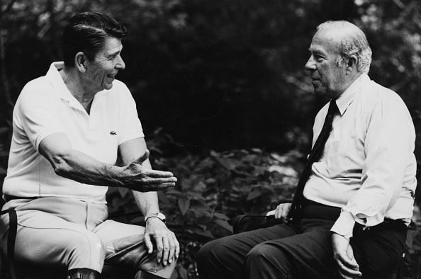 Secretary Of State「Ronald Reagan And George Shultz」:写真・画像(8)[壁紙.com]