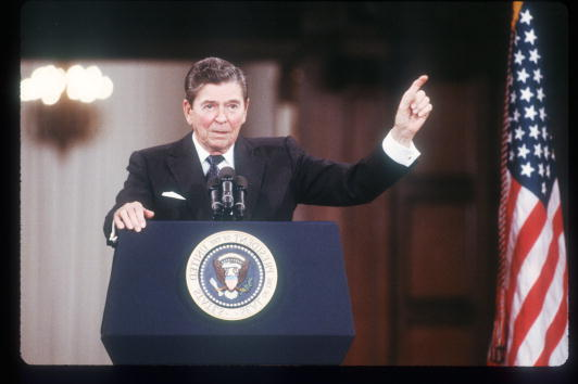 Moscow - Russia「Reagan Speaks At The Moscow Summit」:写真・画像(15)[壁紙.com]