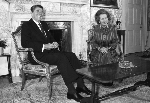 Margaret Thatcher「Ronald Reagan And Margaret Thatcher」:写真・画像(11)[壁紙.com]