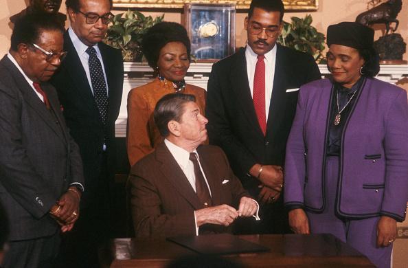 Coretta Scott King「President Reagan Retrospective」:写真・画像(11)[壁紙.com]