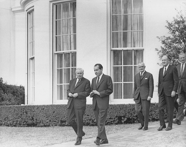 Consolidated News Pictures「Nixon And Wilson」:写真・画像(13)[壁紙.com]