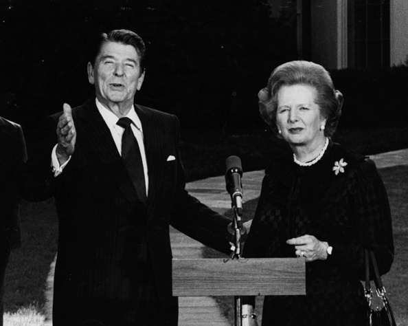 Prime Minister of the United Kingdom「Ronald Reagan And Margaret Thatcher」:写真・画像(10)[壁紙.com]