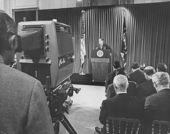 Press Room「Richard Nixon Press Conference」:写真・画像(14)[壁紙.com]