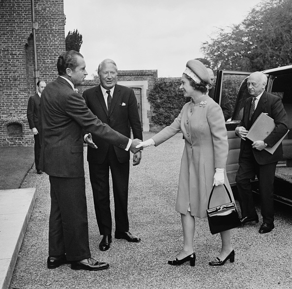 US President「Nixon, Heath And The Queen」:写真・画像(9)[壁紙.com]