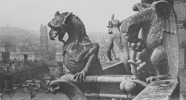 Notre Dame de Paris「Gargoyle Trio」:写真・画像(16)[壁紙.com]