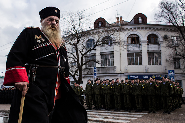Cossack「First Anniversary Of The Referendum Which Annexed The Crimea To Russia」:写真・画像(7)[壁紙.com]
