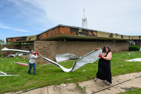 Missouri「Tornado Causes Extensive Damage In Jefferson City, Missouri」:写真・画像(5)[壁紙.com]