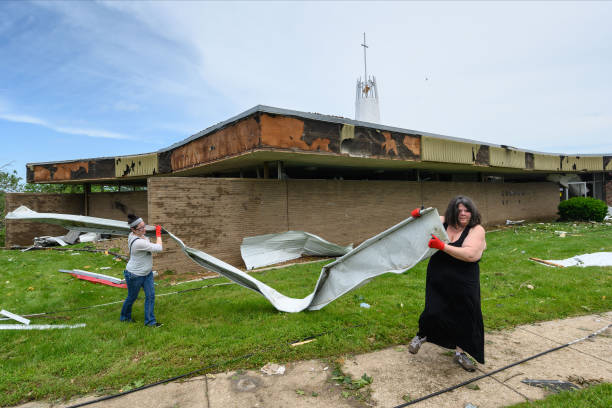 Tornado Causes Extensive Damage In Jefferson City, Missouri:ニュース(壁紙.com)