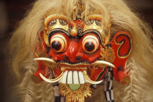 Evil「Mask of Rangda, The Evil Witch, Bali」:スマホ壁紙(7)