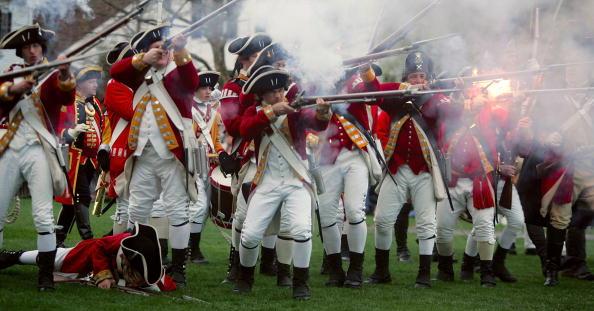 Historical Reenactment「Reenactors Celebrate Revolutionary War Battles Of Lexington And Concorde」:写真・画像(14)[壁紙.com]